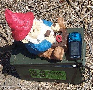 one of the Guajome gnomes